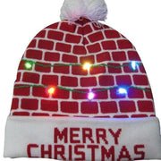 Light Up Christmas Beanie - 01 - Christmas