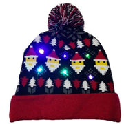 Light Up Christmas Beanie - 05 - Christmas