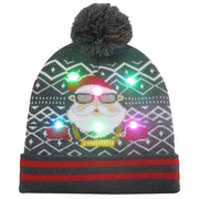 Light Up Christmas Beanie - 06 - Christmas