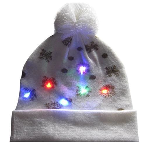 Light Up Christmas Beanie - 11 - Christmas