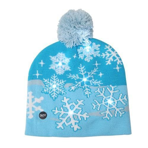 Light Up Christmas Beanie - 25 - Christmas