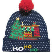 Light Up Christmas Beanie - 36 - Christmas