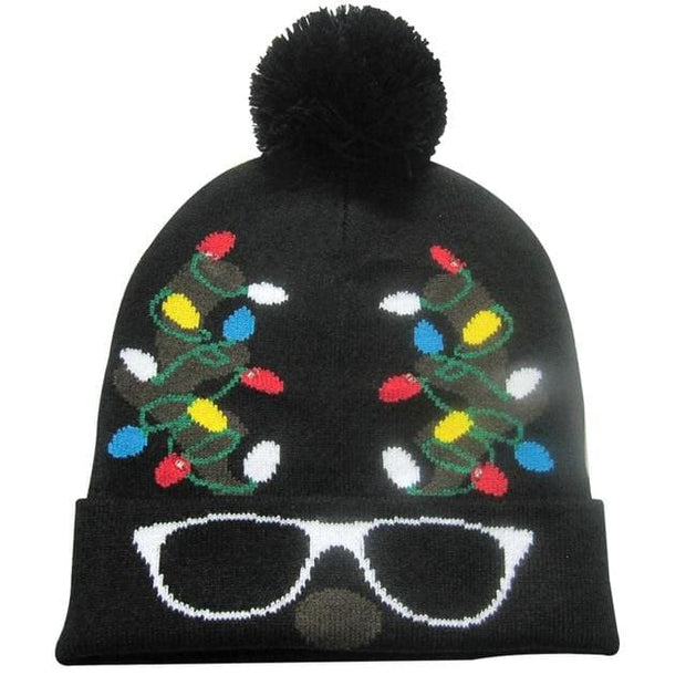 Light Up Christmas Beanie - 41 - Christmas