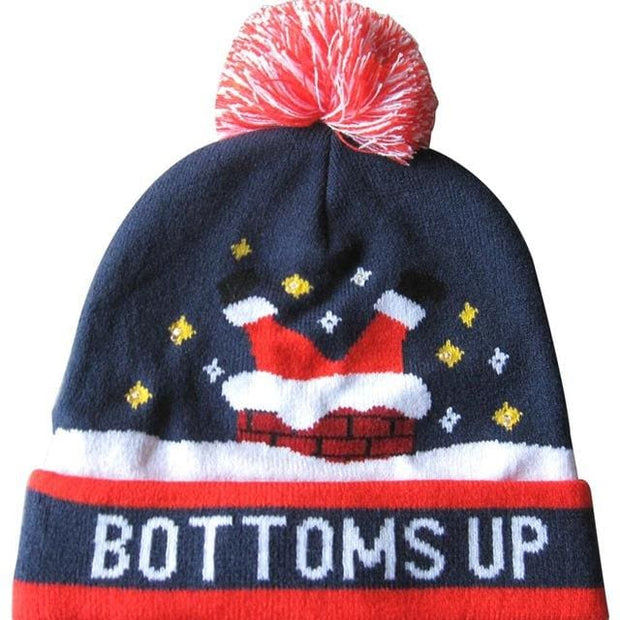 Light Up Christmas Beanie - 42 - Christmas