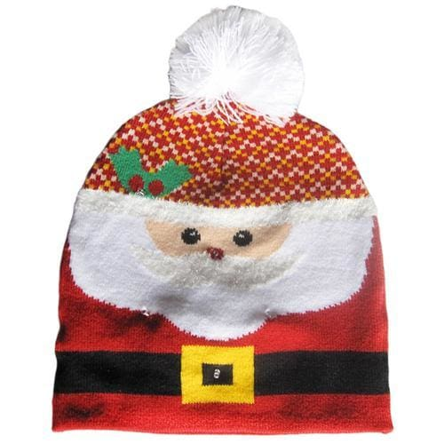 Light Up Christmas Beanie - 44 - Christmas