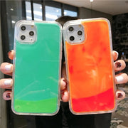 Luminous Glow In The Dark Quicksand iPhone Case - Fashion & Accessories