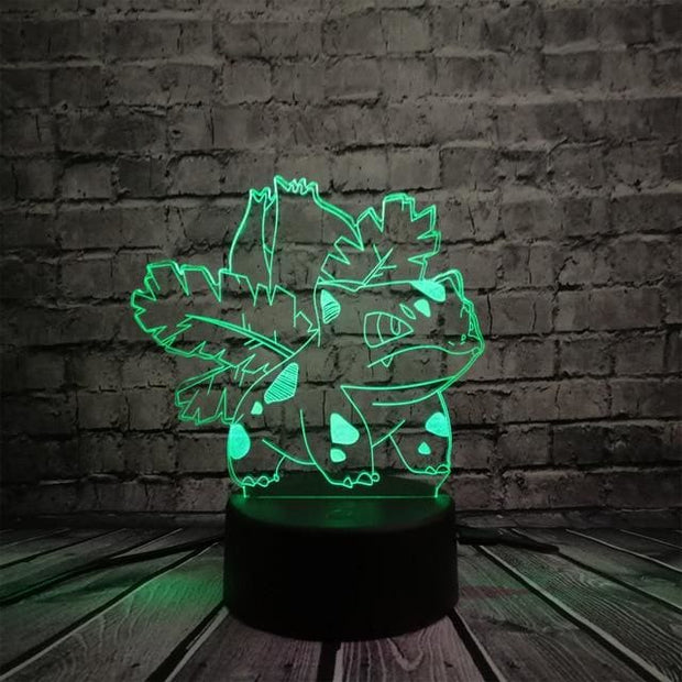 Pokemon 3D LED Night Light - Style 1 / Touch One 7 Color - Christmas