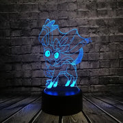 Pokemon 3D LED Night Light - Style 11 / Switch one 3 Color - Christmas