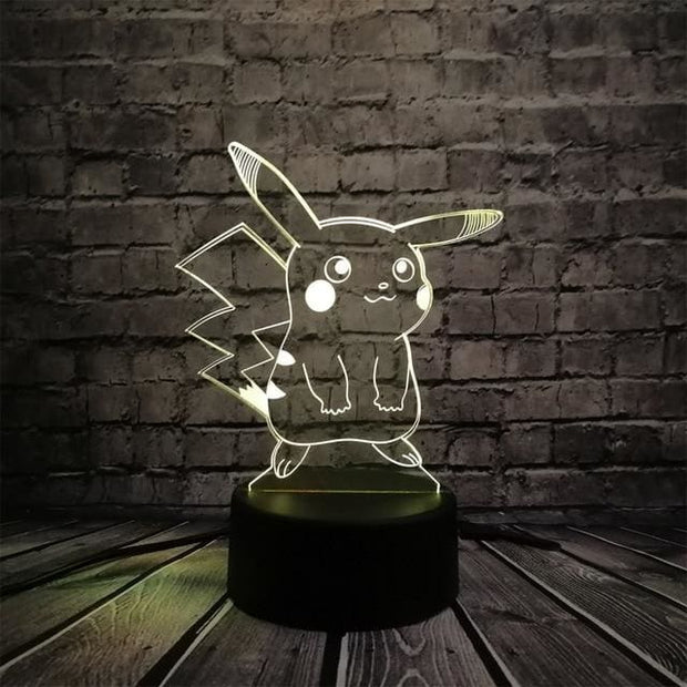 Pokemon 3D LED Night Light - Style 3 / Switch one 3 Color - Christmas