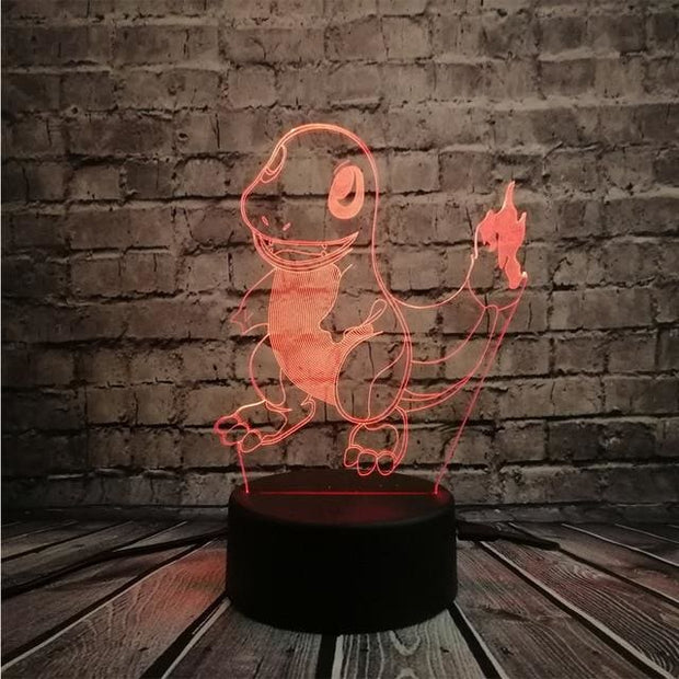 Pokemon 3D LED Night Light - Style 4 / Switch one 3 Color - Christmas
