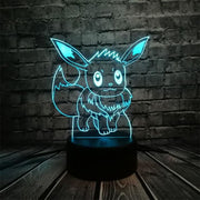 Pokemon 3D LED Night Light - Style 6 / Switch one 3 Color - Christmas