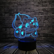 Pokemon 3D LED Night Light - Style 7 / Switch one 3 Color - Christmas