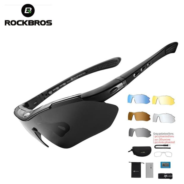 Polarized Sports Outdoor Sunglasses - Fashion & Accessories