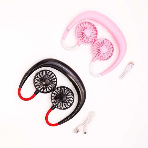 Portable Neckband Fan - Cool Gadgets
