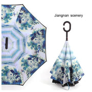 Reverse Inverted Umbrella - jiangnan scenery - Cool Gadgets