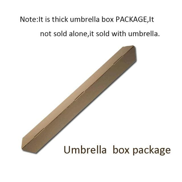 Reverse Inverted Umbrella - package box - Cool Gadgets
