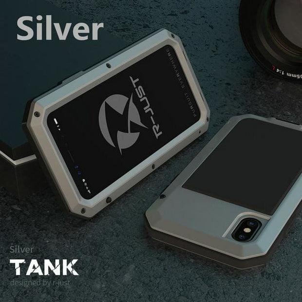 Shockproof Waterproof Military Armour iPhone Case - For iphone 4 4S / Silver Phone Case - Cool Gadgets