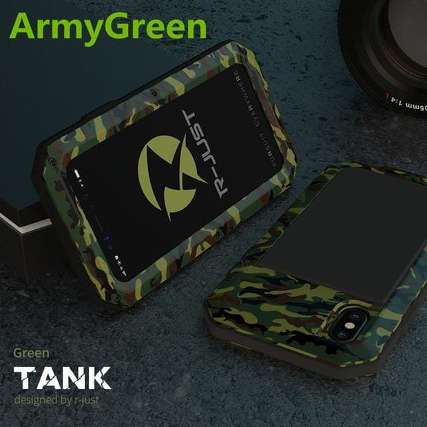 Shockproof Waterproof Military Armour iPhone Case - For iphone 6 6S / ArmyGreen Phone Case - Cool Gadgets