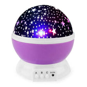Starry Night Light Projector - violet - Christmas