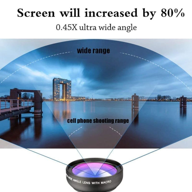 Super Wide Angle Macro Lens for Smartphone - Cool Gadgets