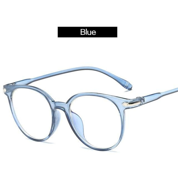Unisex Blue Light Blocking Reading Glasses - Blue - Fashion & Accessories