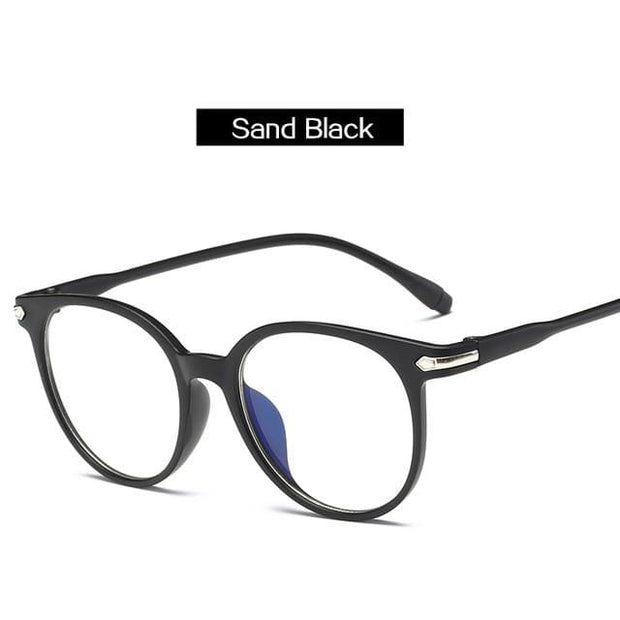 Unisex Blue Light Blocking Reading Glasses - Sand Black - Fashion & Accessories