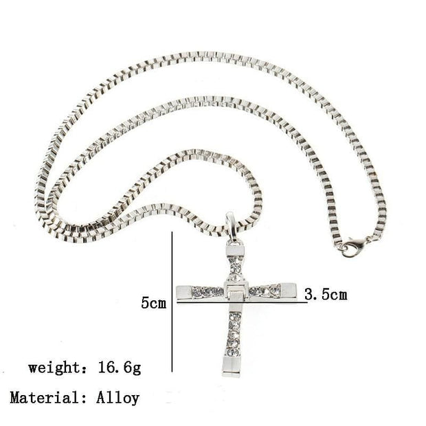 Women Cross Pendant Necklace - Fashion & Accessories
