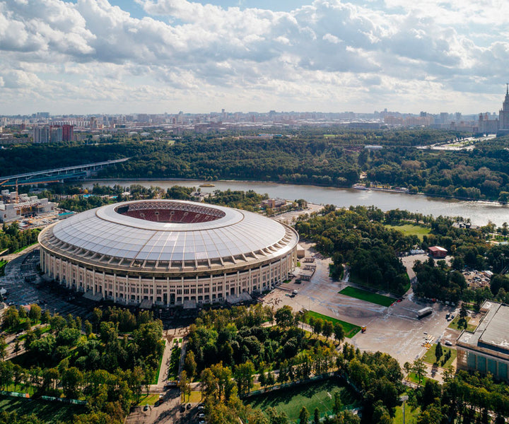 Design football: stadiums that dazzle for their architecture