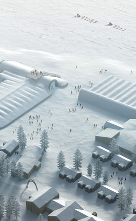Would you sleep in an ice-made building?