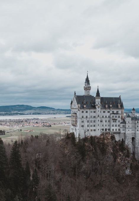 Royal tour: German castles
