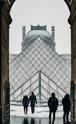Through the Louvre's Crystals