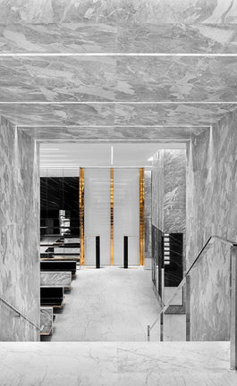 Marble as resonance for architecture and design