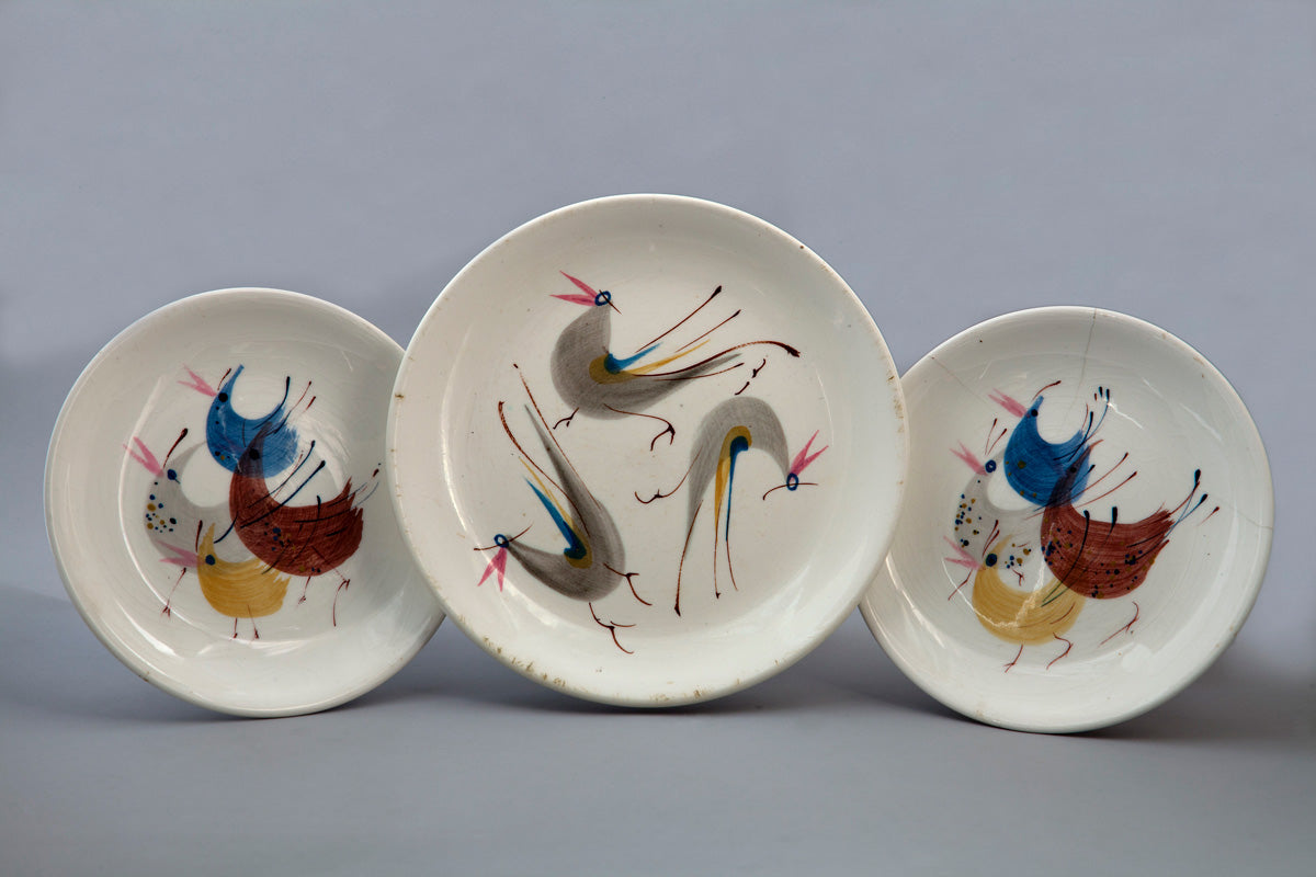 Set of three plates, 1960. Photo by Francisco Kochen. Courtesy of Museo Franz Mayer.