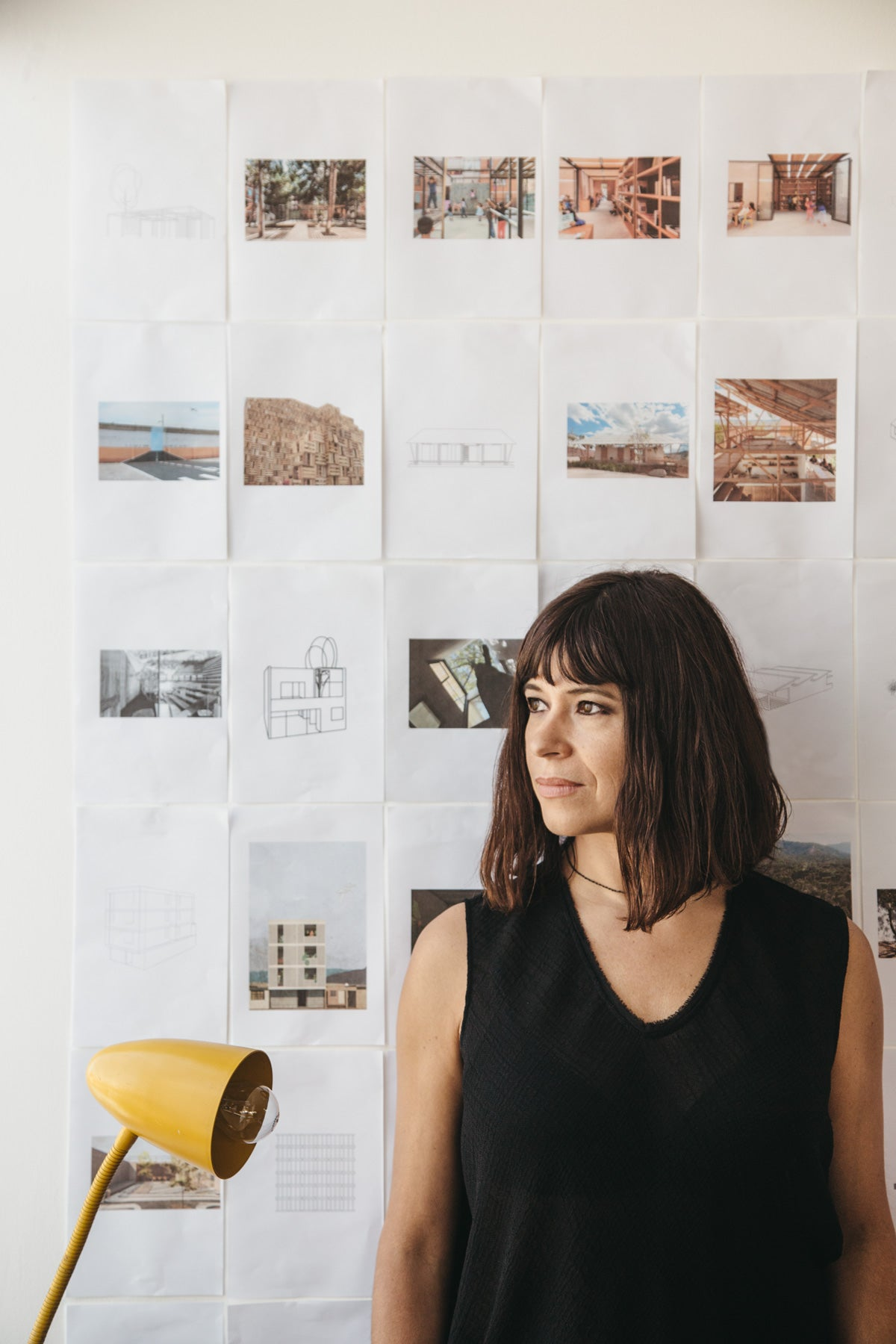 "We visited Rozana in her studio in the Roma neighborhood (Mexico City) and among many other things, she sent a message to future architects: ""you must focus in creating knowledge rather than recognition, do research and deepen the contents of design, take the time to project a process in order to project a space that results in a good design""."
