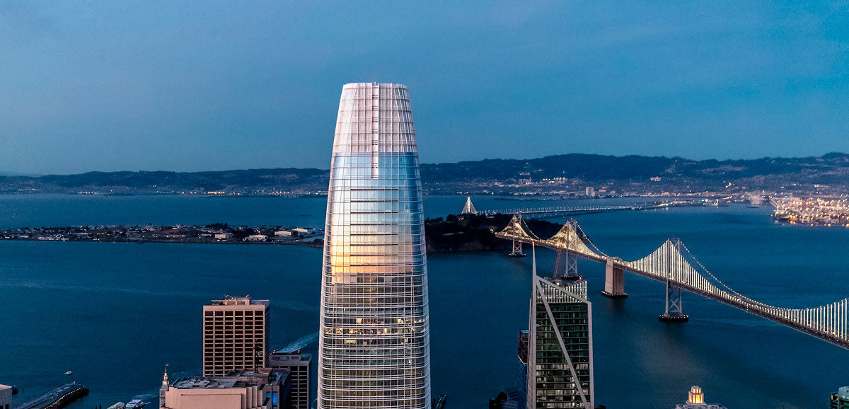 The Salesforce Tower, San Francisco, Estados Unidos. Foto: Jason O'Rear