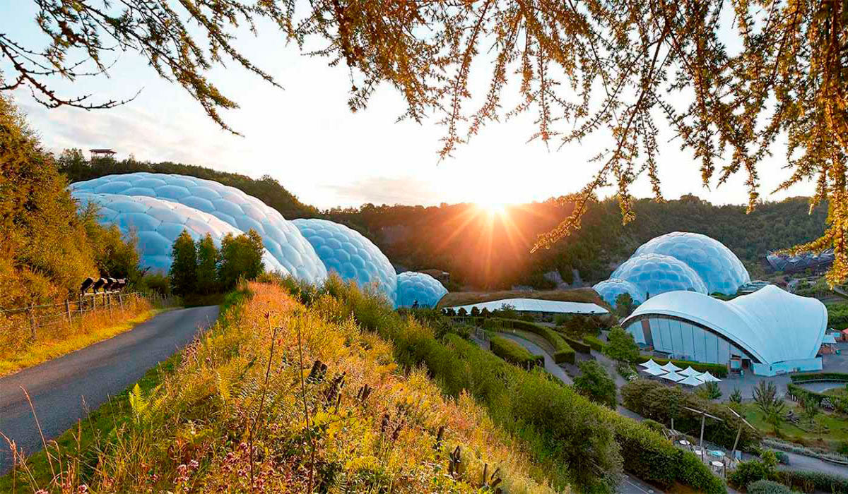 Photo: The Eden Project