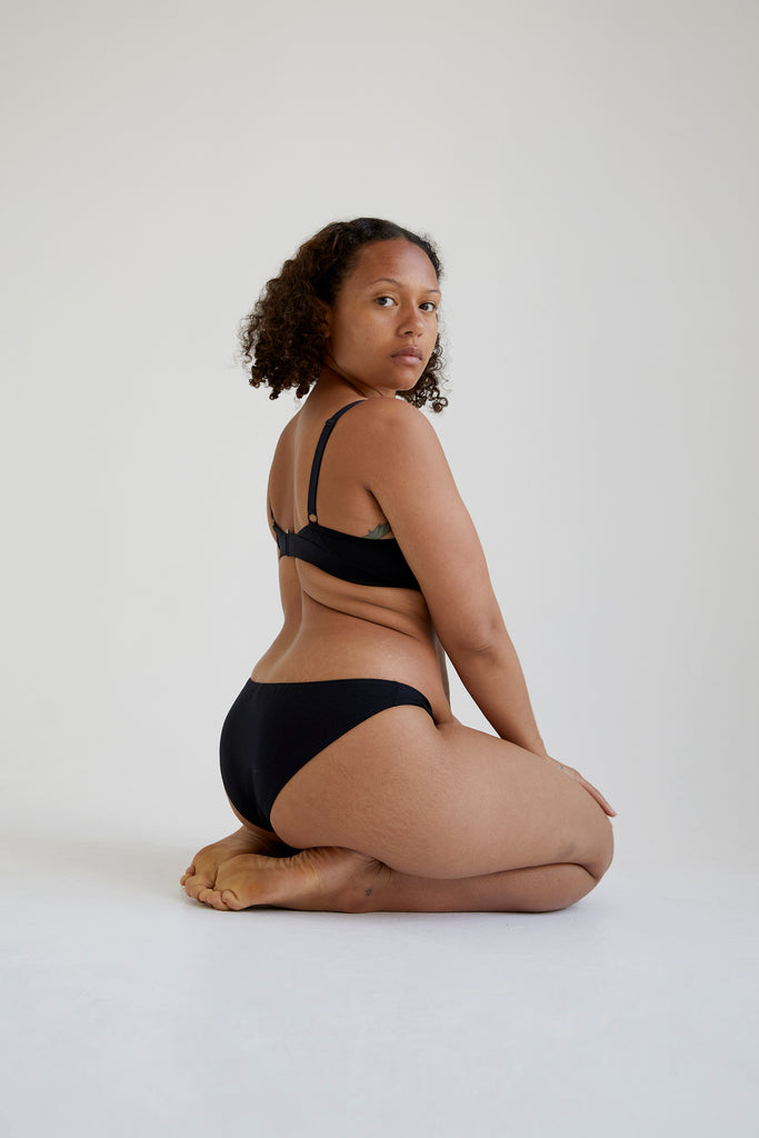 Womanhood Lingerie sustainable organic cotton the nude label