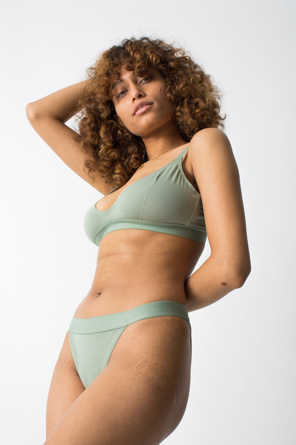 womanhood lingerie - ethical lingerie - organic cotton underwear - the nude label