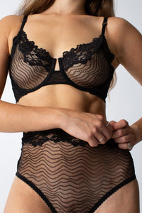 lonely bonnie brief black lace womanhood lonely label