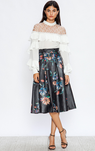 Yes, Pleats Skirt