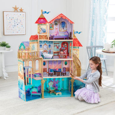 DISNEY® ARIEL UNDERSEA KINGDOM DOLLHOUSE WITH ASSEMBLY™