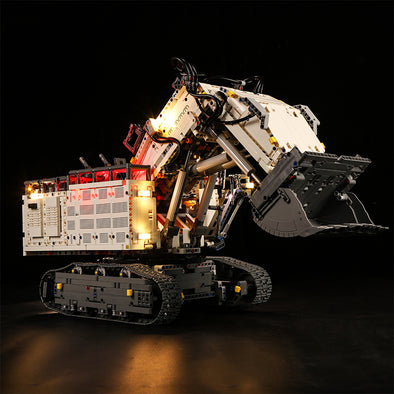 Liebherr R 9800 Excavator #42100 lighting kit