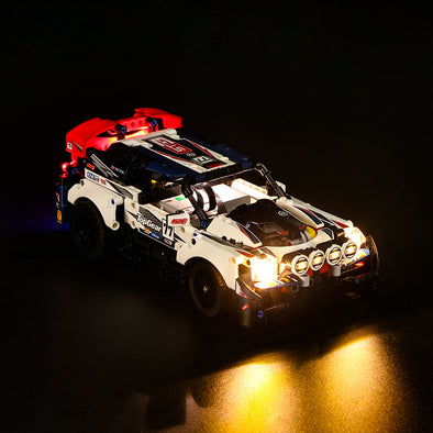 App-Controlled Top Gear Rally Car #42109 lighting kit
