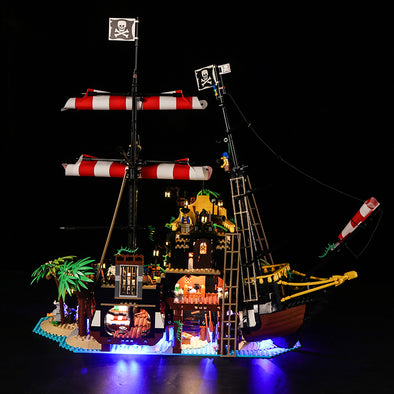 Pirates of Barracuda Bay #21322 lighting kit