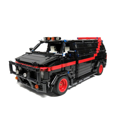 MOC-5945 A-Team Van super car by Chade