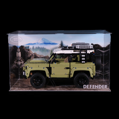 Acrylic Display box - Land Rover Defender # 42110