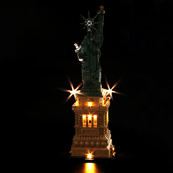 The Statue of Liberty #21042 Lighting Kit