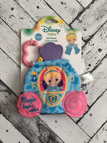 Disney Baby Cinderella Interactive Soft Book - Kidz Klozet Across The Bay Spanish Fort, AL Mobile, AL