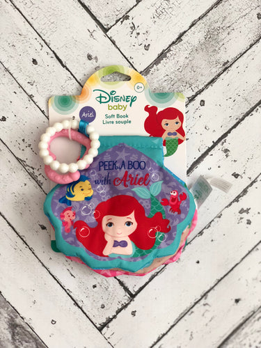 Disney Baby Ariel Interactive Soft Book - Kidz Klozet Across The Bay Spanish Fort, AL Mobile, AL