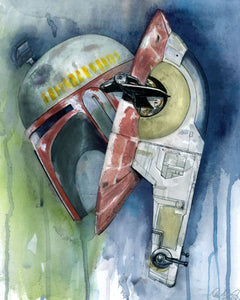Boba Fett and Save 1 Giclee Print
